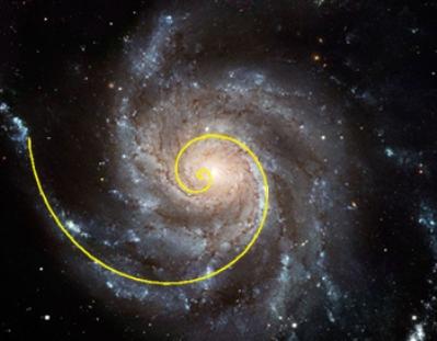 trajectory fibonacci galaxy