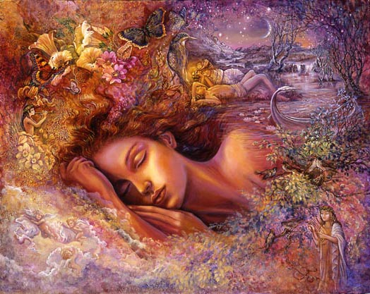 Psyche's Dream by Josephine Wall