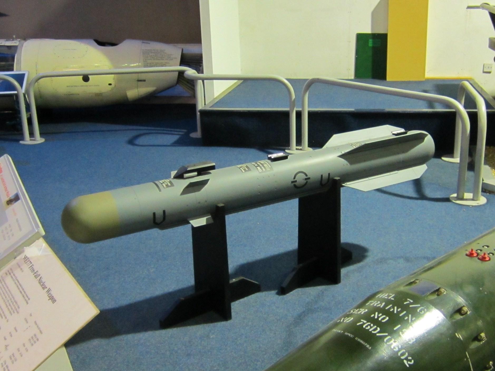 Brimstone_missile_at_RAF_Museum_London