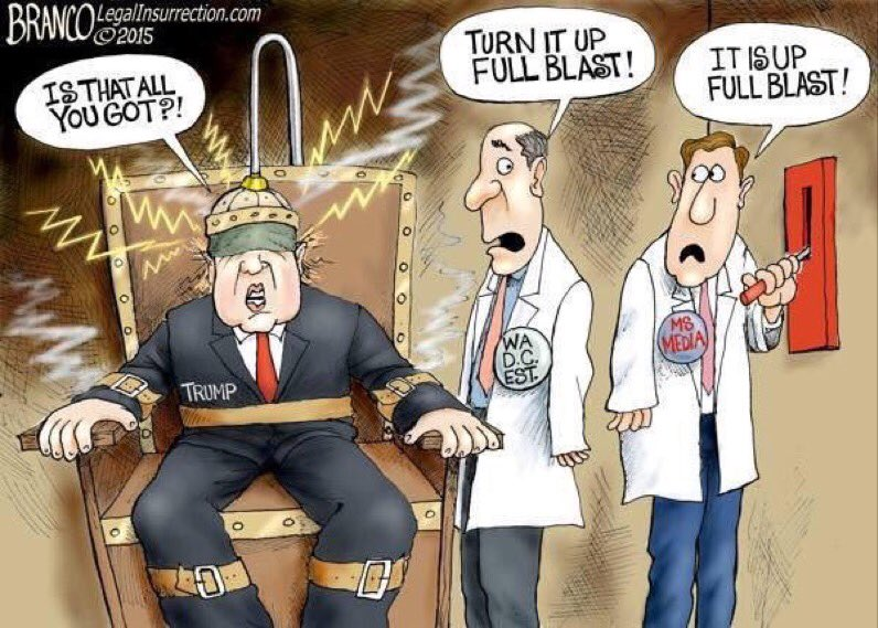 trump full blast