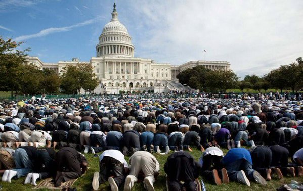 Moslems white house