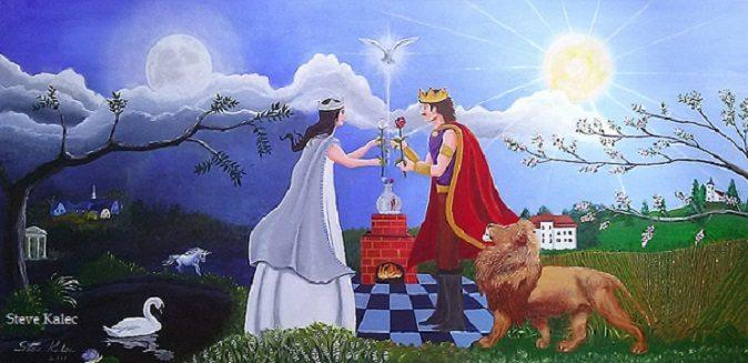 King-Queen-Painting-Steve-Kalec-share